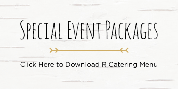 R Cottage Special Events Packages Download